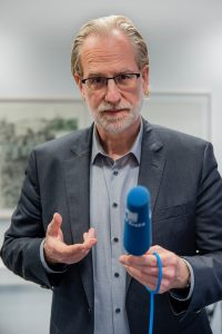 Medientrainer Tom Buschardt